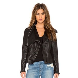 BLANK NYC MOTO FAUX LEATHER JACKET
